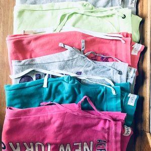 Lot of 6 pairs of Aeropostale sweatpants!